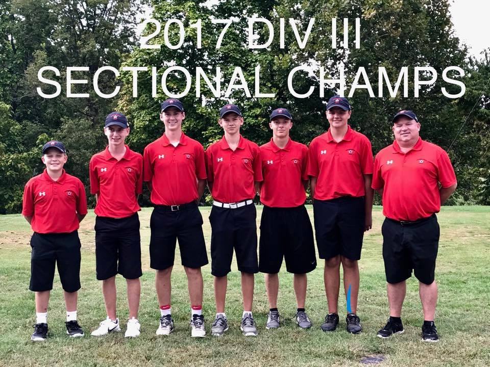 Golf Sectional Champs!