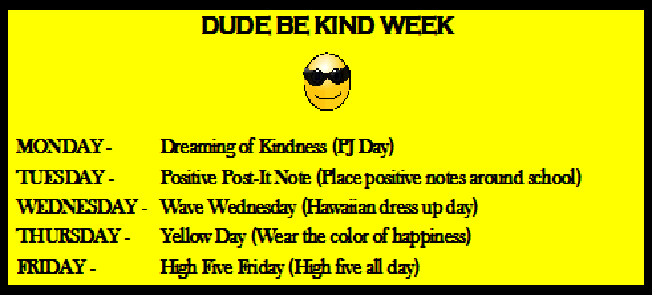 Dude be Kind